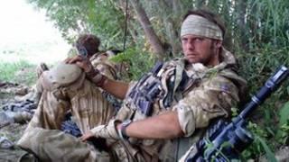 Джн Коллинз в Афганистане