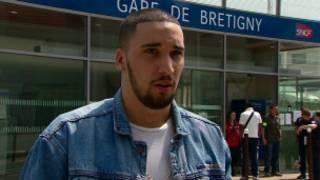 homem que viu acidente com trem na França (BB)
