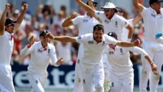 इंग्लैंड की जीत
