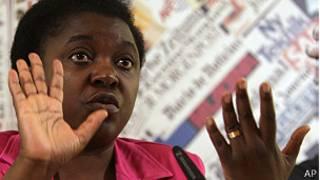 Cecile Kyenge, ministra de Inmigración de Italia