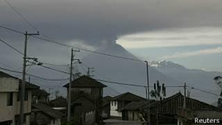 tungurahua, ecuador, volcán