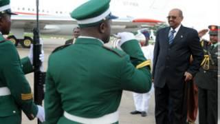 Shugaba Omar El-Bashir a ziyarasa zuwa Najeriya