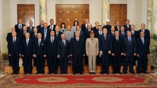 Новый кабинет министров Египта