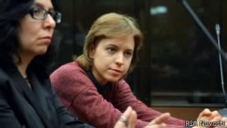Вера Политковская на суде