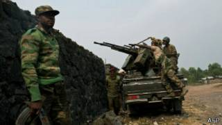 Militares no Congo | Foto: AFP