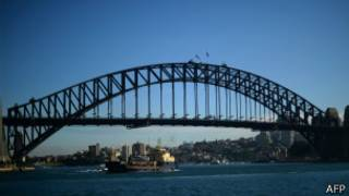 Sydney Harbour Bridge, AFP