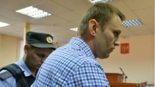 Алексей Навальный в Кировском суде