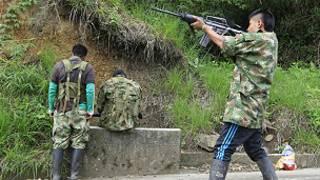 'Yan tawayen kungiyar Farc a kasar Colombia