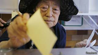 Wata mata na kada kuri'a a kasar Japan