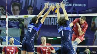 روسیه و ایتالیا در نیمه نهایی لیگ جهانی والیبال