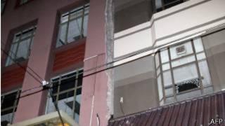 Hư hại cho nhà cửa ở Wellington