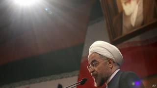 presidente de Irán Hassan Rouhani