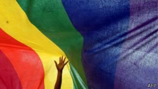 Флаг в цветах радуги, символ ЛГБТ-сообщества