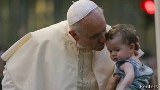 Папа римский в Рио-де-Жанейро
