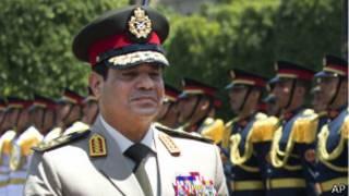 وزير الدفاع المصري، عبد الفتاح السيسي
