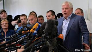 Анатолий Кучерена в Шереметьево