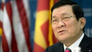 Chủ tịch Trương Tấn Sang trả lời câu hỏi tại CSIS ngày 25/7/2013