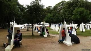 confessionário | Foto: BBC Brasil