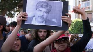 Демонстрация в Тунисе