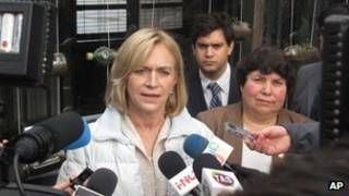 Evelyn Matthei, candidata del oficialismo en Chile