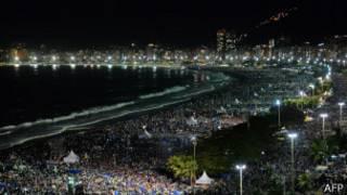 Praia de Copacabana (foto: AFP)