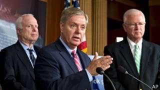 Senatoci McCain da Graham da Chambliss