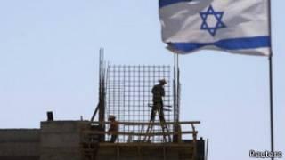 Assentamento israelense na Cisjordânia (foto: Reuters)