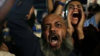Les partisans de M. Morsi
