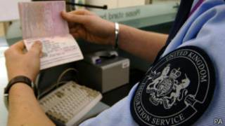 英国入境检查