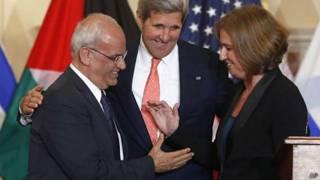 مباحثات السلام الإسرائيلية الفلسطينية