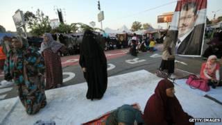 Biểu tình ngồi ở Cairo