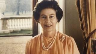80年代的英國女王