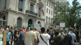 Антиводочная гей-акция в Нью-Йорке