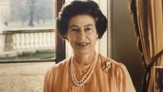 80年代英國女王照片