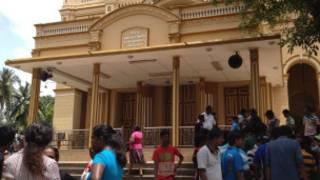 Weliweriya church on Friday