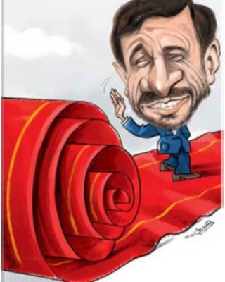 کارتون هادی حیدری، شرق