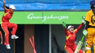 चीन, क्रिकेट