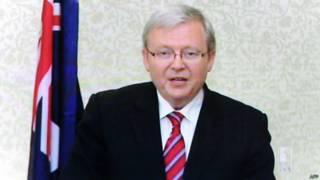 आस्ट्रेलिया के प्रधानमंत्री केविन रड
