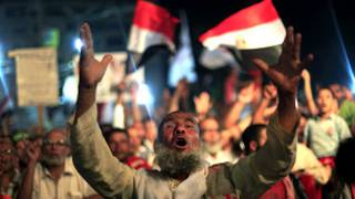 متظاهر مؤيد لمرسي