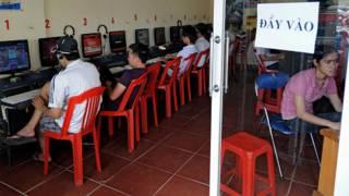 Một cà phê Internet ở Việt Nam