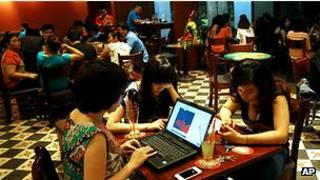 Internet users in Vietnam
