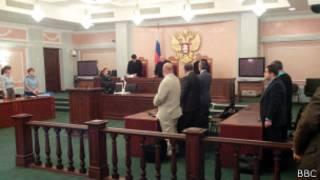 Слушания в Верховном суде по делу ЮКОСа
