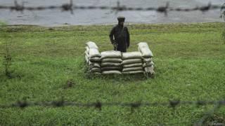 पुंछ एलओसी पर भारतीय जवान