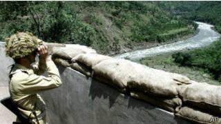 مرز غیر رسمی (دوفاکتو) بین هند و پاکستان در کشمیر