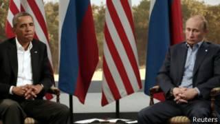 Obama e Putin, em foto de arquivo (Reuters)