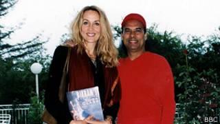 Jerry Hall y Bikram Choudhury