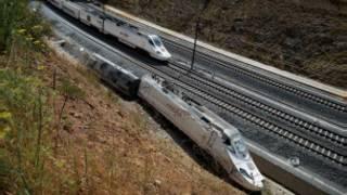 القطار الأسباني