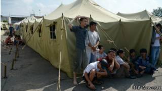 Мигранты в Гольяново