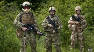 Экипировка британских военнослужащих