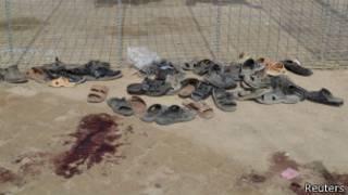 Нападение произошло возле суннитской мечети
